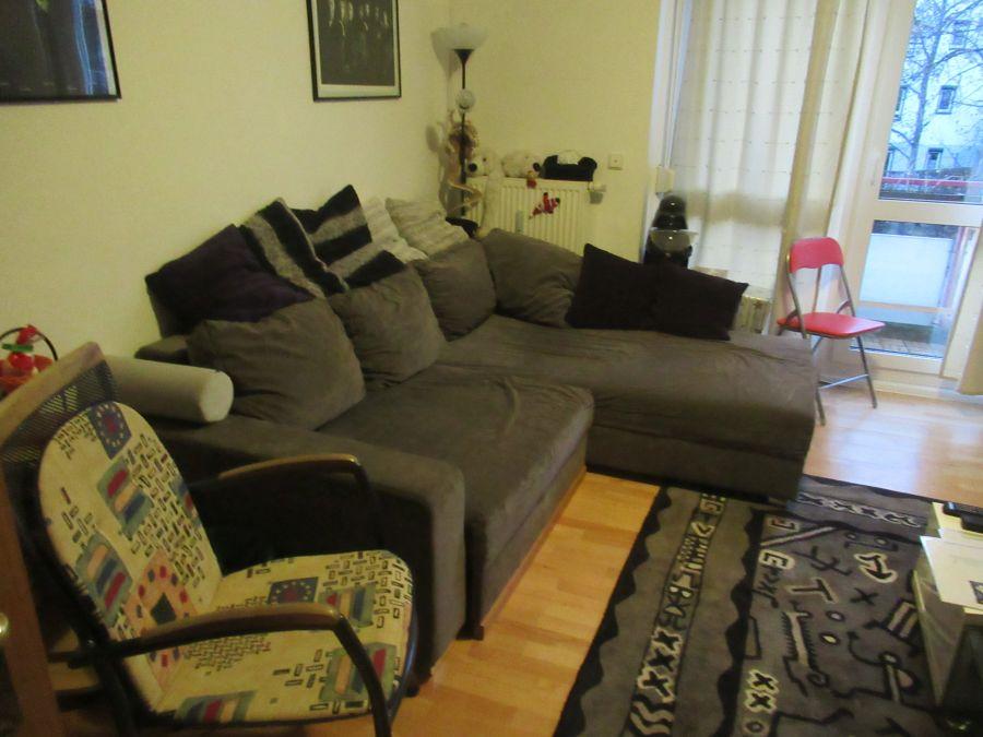 Unser jetziges Sofa
