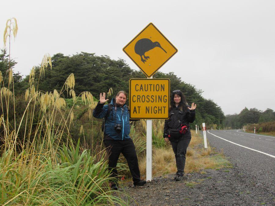 Sandra und Florian 2019 in Neuseeland